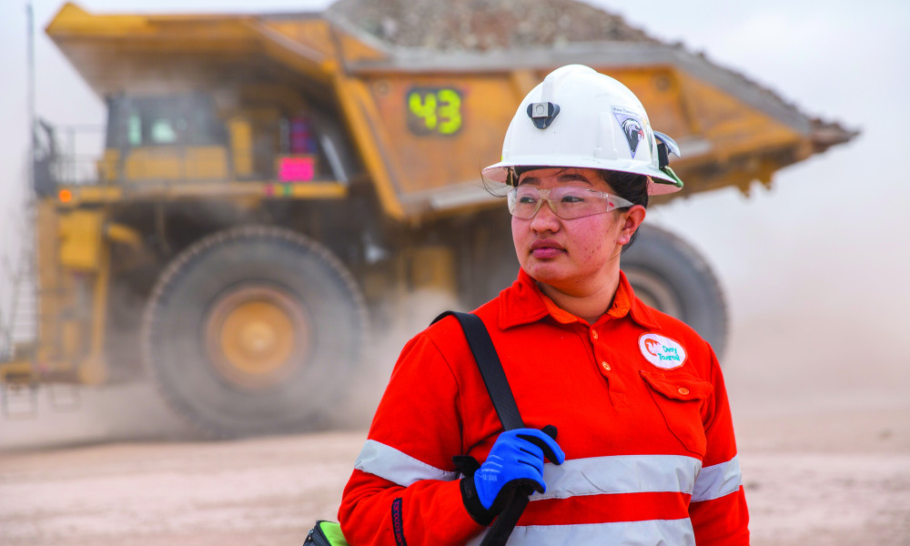 FROM THE CABIN OF THE GIANT MINING DUMP TRUCK TO THE AUSTRALIAN MINE